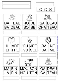 mots 3 - la maternelle de Camille French Language Lessons, French Lessons, French Education, Kids Education, Preschool Classroom, Preschool Activities, Play Based Learning, Home Learning, Teaching Tools