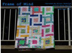 Frame of Mind Throw Quilt « Moda Bake Shop
