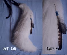 white wolf tail by TabbyPaw.deviantart.com on @deviantART