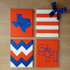 University Wall Decor Bundle 4 by TexasClass on Etsy, $40.00