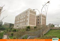 Paisagismo do Santa Cecília. Condomínio fechado de apartamentos localizado em Guarulhos / SP.