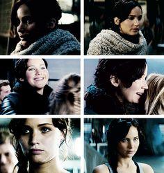 """Katniss Everdeen + """"Catching Fire"""" deleted scenes"""