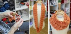 Broomstick crochet cowl. Great to make and great to wear!