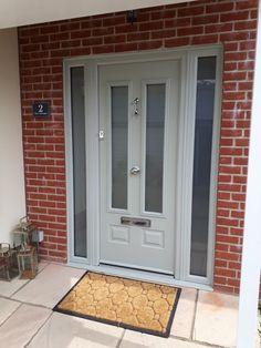 Gallery - The Urban Door Company Victorian Front Doors, Grey Front Doors, Beautiful Front Doors, Front Doors With Windows, Painted Front Doors, Front Door Colors, Composite Front Doors Uk, Modern Front Door, House Front Door