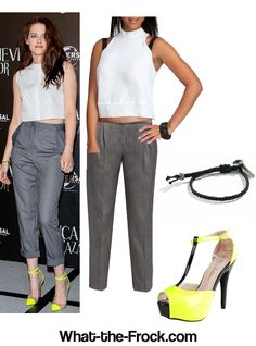 What the Frock? - Affordable Fashion Tips and Trends: Celebrity Look for Less: Kristen Stewart Style