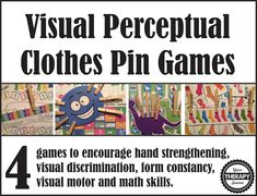 By: Your Therapy Source Summary: Download of 4 clothes pin games to print and play. Product Details: E-Book: 16 pages Language: English LIST PRICE FOR ELECTRONIC VERSION: $4.99 Shipping: FREE – once payment is made you will receive an email with a link to download the book. You will need Adobe Reader to open the …