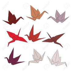 32 Brilliant Image of Origami Paper Crane Origami Paper Crane Japanese Origami Paper Cranes Set Orange Red White Pink Symbol Origami Flapping Bird, Origami Bird, Origami Easy, Origami Paper Crane, Paper Cranes, Paper Crane Instructions, Japanese Origami, Orange Red, Red And White