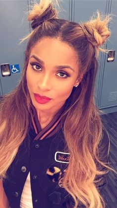 The best celebrity hairstyles of the summer to totally steal as hair-inspiration: Ciara's half-up pigtail buns