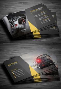 Rent A Car Business Card - Graphic Nitro Foil Business Cards, Business Card Psd, Elegant Business Cards, Architecture Business Cards, Design Garage, Professional Business Card Design, Bussiness Card, Postcard Design, Brochure Design