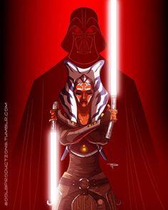 Darth Vader vs Ahsoka Tano: the final countdown - Star Wars Rebels