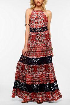Ecote Festival Knit Maxi Dress  #UrbanOutfitters