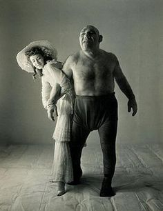 Photograph of Maurice Tillett and female companion, circa 1925.