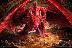 Anne Stokes dragon fantasy