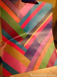 DIY Wall Decor With a Gift Bag