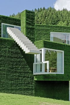 "sustainable architecture. ""Single family home of Weichlbauer Ortis Architects 