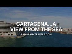 Zam's Zany Travels!: Cartagena.... A View From the Sea...