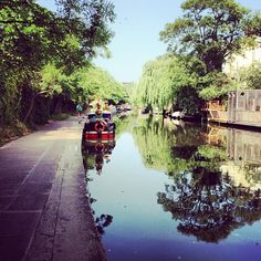 Step away from the hustle and bustle on Regent's Canal
