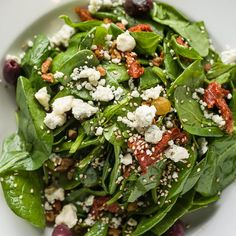 Zea Spinach Salad
