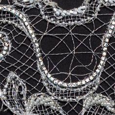 Broderie tip dantelă Ricamificio Levi Cod, Chain, Jewelry, Jewlery, Bijoux, Jewerly, Atlantic Cod, Jewelery, Chain Drive