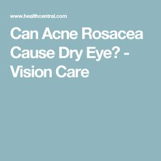 Eye drops for Ocular Rosacea are essential if you want to preserve your long term vision. You don't want to mess with your eyesight and ocular rosacea can be dangerous Ocular Rosacea, Acne Rosacea, What Causes Rosacea, Rosacea Remedies, Dry Eye