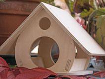 Maison d'oiseau / mangeoire / Villa d'oiseau