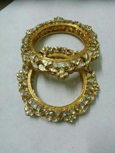 Buy Jewellery Online in India India Jewelry, Gold Jewelry, Jewelery, Royal Jewelry, Ethnic Jewelry, Diamond Jewelry, Kundan Bangles, Bridal Bangles, Rajputi Jewellery