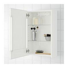STORJORM Spiegelkast 1 deur/inb verlichting  - IKEA