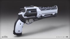 ArtStation - Destiny - House of Wolves - Hand Cannon, Mark Van Haitsma