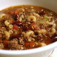 Pasta e Fagioli a la Chez Ivano - Allrecipes.com