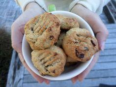 Cranberry Chickpea Cookies