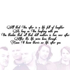 Daughtry lyrics | Life After You