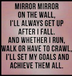 ✿⊱ Mirror, mirror..