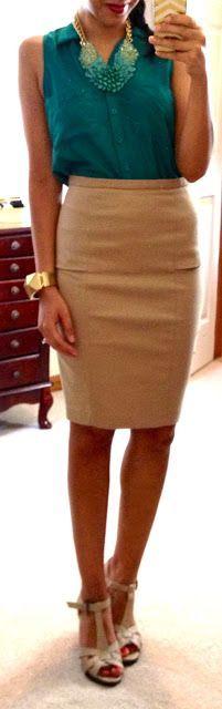 purpngreen.com camel-pencil-skirt-21 #skirts