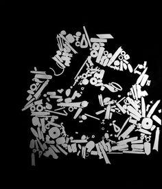 Client Jinsha Site Museum Website http://www.jinshasitemuseum.com/ Stop motion animation réalisée à partir de volumes découpés recomposant le mot JIN 金, « or ». Ce travail a été réalisé dans le cadre du projet d'identité visuelle du Musée d'archéologie du site de Jinsha, en Chine.  为成都金沙遗址博物馆做VI设计的一部分。