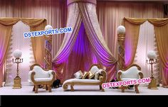 Industrial Wedding Venues, Furnitures, Wedding Decorations, Carving, Asian, Couch, Home Decor, Settee, Decoration Home