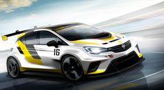 El nuevo Opel Astra ya ultima su primer traje de competición para el TCR - http://www.actualidadmotor.com/nuevo-opel-astra-tcr-competicion/