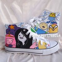 Adventure Time Theme Hand Painted Casual Canvas Shoes Star http://it.aliexpress.com/store/product/Adventure-Time-Theme-Hand-Painted-Sneakers-Canvas-Shoes-Star-Unisex-Original-Graffiti-Custom-High-Top/1768014_32345545949.html