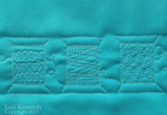 Stitching Spools-A Free Motion Quilting Tutorial