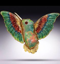 Marianne Hunter - opal hummingbird