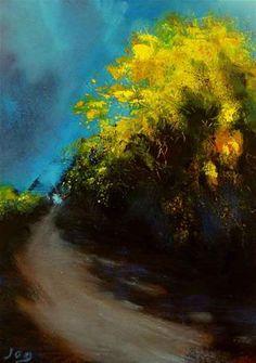 The Gorse Bush , Ireland - Original Fine Art for Sale - © John Ogrady