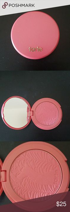 New Tarte Blissful Blush Vegan, cruelty free Tarte blush in Blissful. New without box. I bought it, maybe used it once, and never used it again. Just been hanging out in my makeup drawer for the last year, unused. Spring cleaning. tarte Makeup Blush