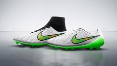 Nike Shine Through Pack Nike Magista high top and low top