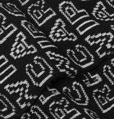 Carhartt Typo Logo-jacquard Stretch Cotton-blend Socks In Black Typo Logo, Carhartt Wip, Socks, Fabric, Cotton, Black, Tejido, Black People, Hosiery