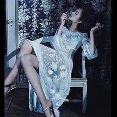 Enikő a német Vogue-ban <3