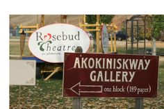 Off tomorrow to lovely Rosebud, Alberta, where my script and six others will be workshopped and performed at the Emerging Playwrights' Festival at the the Akokiniskway Gallery. Hail to the arts village!