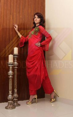 All women and girls check out latest formal dresses 2013 by Moods and Shades. Winter Collection, Dress Collection, Dresses 2013, Formal Dresses, Fashion Clothes Online, Friends Fashion, Winter Dresses, Mens Clothing Styles, Winter Wear