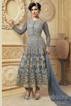 http://www.mangaldeep.co.in/salwar-kameez/glamorous-grey-designer-unstitch-salwar-4980 For further inquiry whatsapp or call at +919377222211