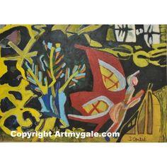 Papillon de Nuit - Grand format - 1 200,00 €  #Art #Artiste