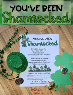 You've Been Shamrocked! • The Trapped Librarian