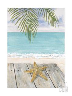 Beach Life Giclee Print by Arnie Fisk at Art.com